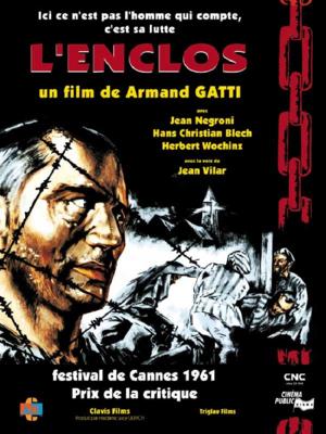 L'Enclos - Jaquette DVD France