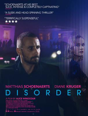 Disorder - Poster - UK