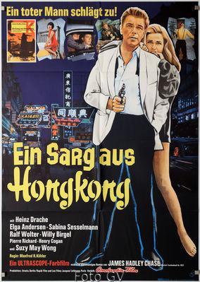 Du grisbi pour Hong-Kong - Poster Allemagne