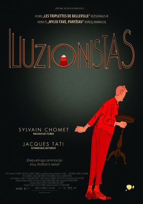 L'Illusionniste - Poster - Lituania