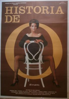 Histoire d'O numéro 2 - Poster Espagne