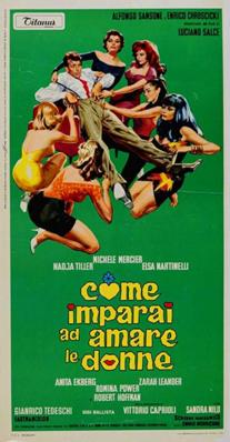 Come imparai ad amare le donne - Poster - Italy