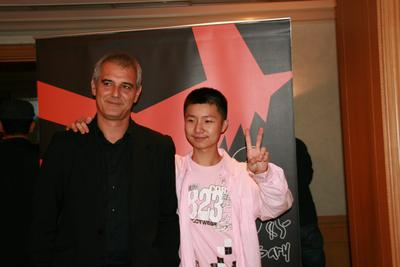 El maratón internacional de Laurent Cantet - Laurent Cantet et Wei Huang à Taïwan