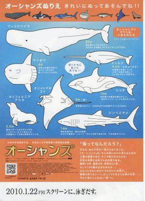Oceans - Poster Japan - 3 - © Gaga Corporation