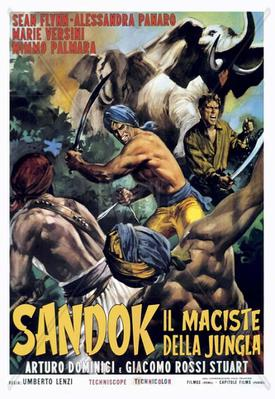 Fugitivos de la jungla - Poster - Italy