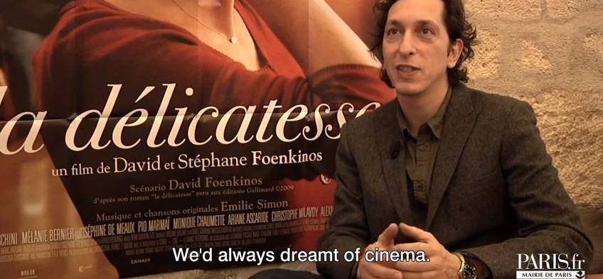Stéphane Foenkinos et La Délicatesse