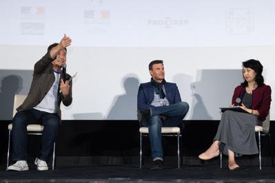 June 22: Day 2 of the Festival - Q&A de François Ozon après la projection de L'Amant double