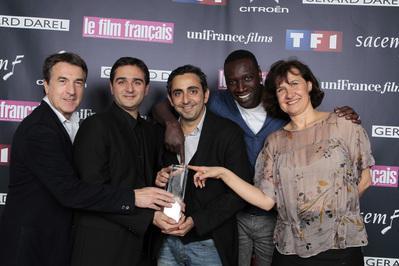 """""""Rien à déclarer"""" : Premio UniFrance Films en los Trofeos de 2012 - © Mano"""