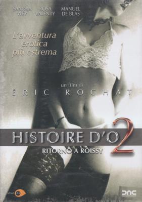 Histoire d'O numéro 2 - Jaquette DVD Italie