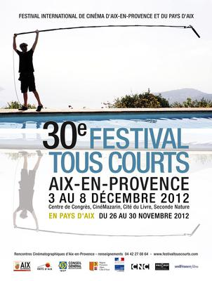 Festival Tous Courts d'Aix-en-Provence - 2012
