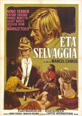 Un été sauvage - Poster Italie