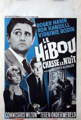 Le Hibou chasse la nuit - Poster - Belgique