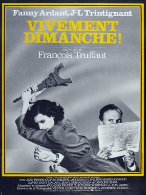 Vivamente el domingo - Poster France
