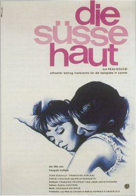 La Peau douce - Poster Allemagne