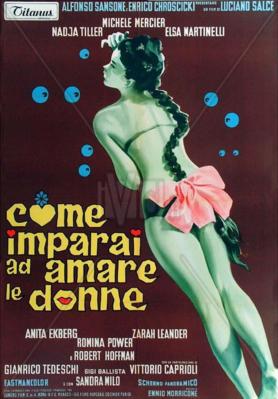 Comment j'ai appris à aimer les femmes - Poster - Italy