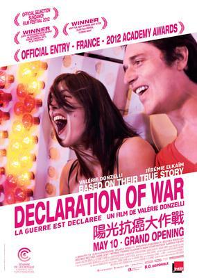 La Guerre est déclarée - Poster Hong-Kong