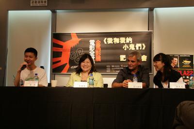 Laurent Cantet's international marathon - Laurent Cantet et Wei Huang à Taïwan