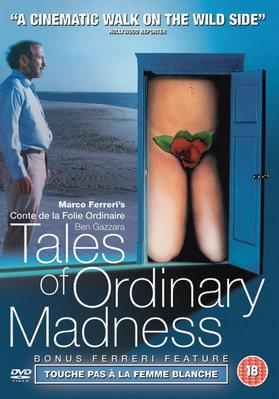 Tales of an Ordinary Madness - Jaquette DVD Royaume-Uni