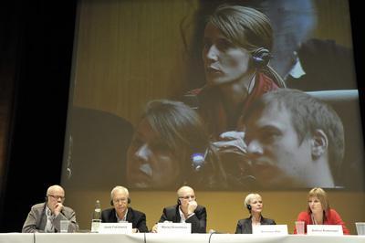 7th Franco-German Film Meetings - Ouverture des débats - © Benoît Linder / French Co.