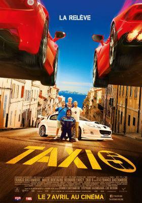 Taxi 5 - Poster - Belgique