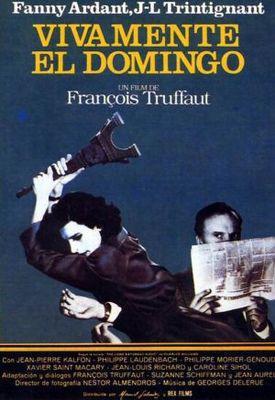 Vivamente el domingo - Poster Espagne