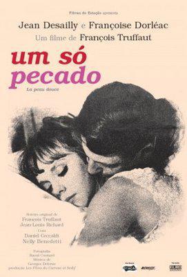 La Peau douce - Poster Brésil