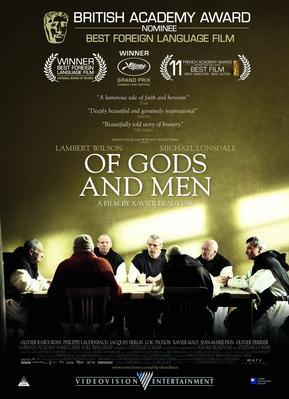 Des hommes et des dieux - Poster - Afrique du Sud