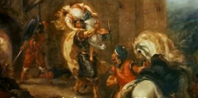 Le Peintre et le poète - Delacroix et Baudelaine