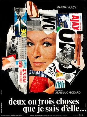 彼女について私が知っている二、三の事柄 - Poster France