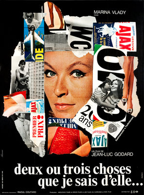 Dos o tres cosas que yo sé de ella - Poster France