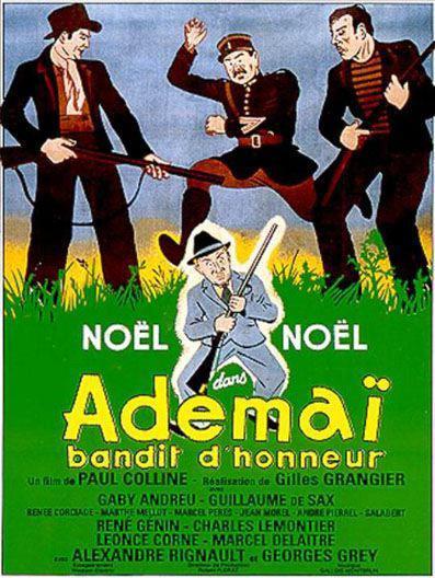 Adémaï bandit d'honneur
