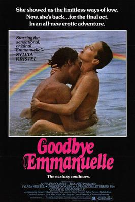 Goodbye Emmanuelle - Poster USA