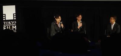 Los espectadores japoneses y el cine francés en el Festival de Tokio - Jonathan Genet après la projection de Cosmos