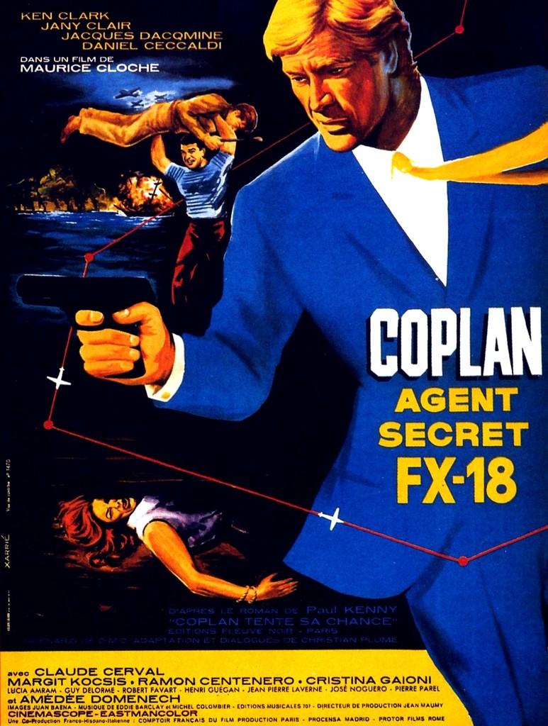 Coplan agent secret FX-18