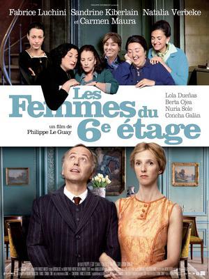 Les Femmes du 6e étage - Poster - France