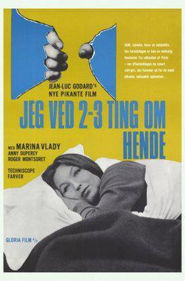Dos o tres cosas que yo sé de ella - Poster Allemagne