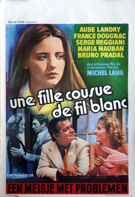 Une fille cousue de fil blanc - Poster Belgique