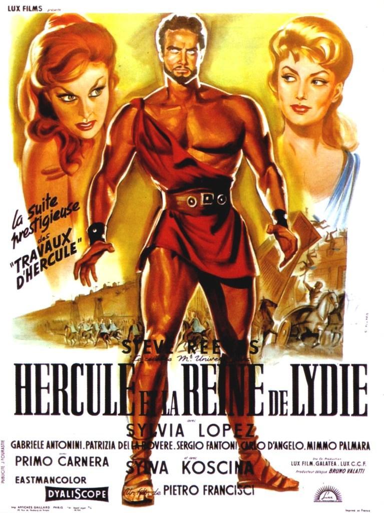 Hércules y la reina de Lidia