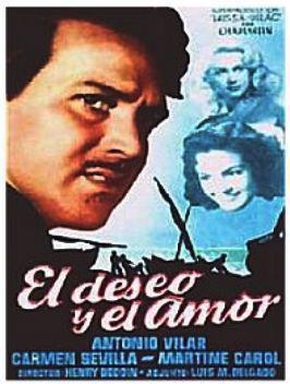 Le Désir et l'amour - Poster Espagne