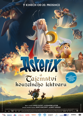 Astérix: The Secret of the Magic Potion - Poster - Czech Republic