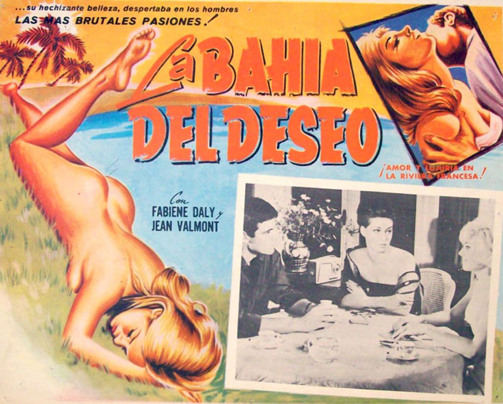 Fabienne Dali - Poster Mexique