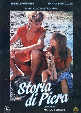 Historia de Piera - Poster Italie