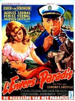 L'Envers du Paradis - Poster Belgique