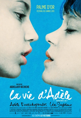 Blue is the Warmest Color - Poster Québec