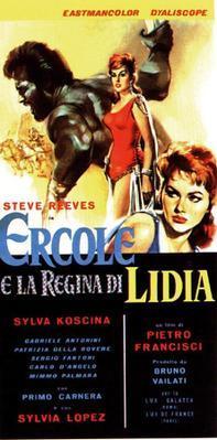 Hércules y la reina de Lidia  - Poster - Italy