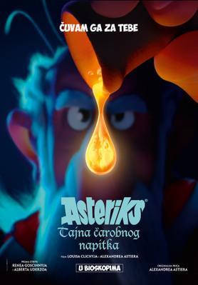 Astérix - Le Secret de la potion magique - Poster - Serbia