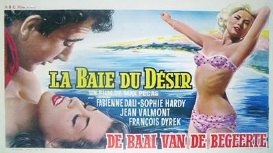 La baie du désir - Poster Belgique
