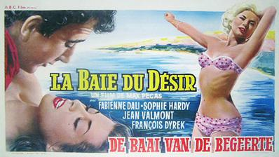 The Erotic Touch - Poster Belgique