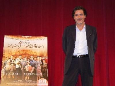 Profusion de estrenos franceses en Japon - Christophe Barratier à Tokyo