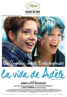 Blue is the Warmest Color - Poster Espagne